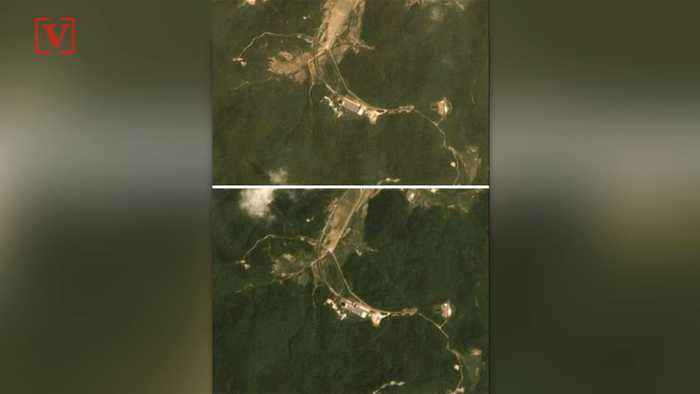 New Satellite Images May Show North Korea Dismantling Nuclear Sites