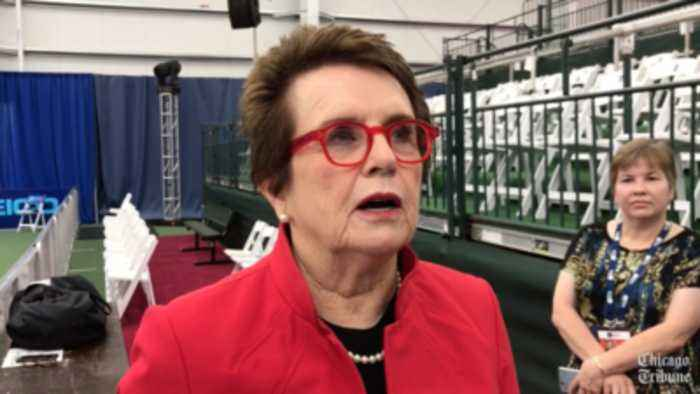 News video: Billie Jean King, Taylor Townsend and Sloane Stephens on tennis in Chicago