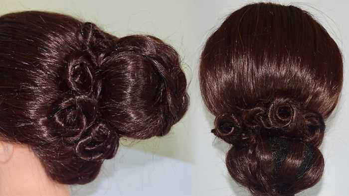 Hairstyle Tutorial Party Wedding Juda Hairstyle One News Page Video