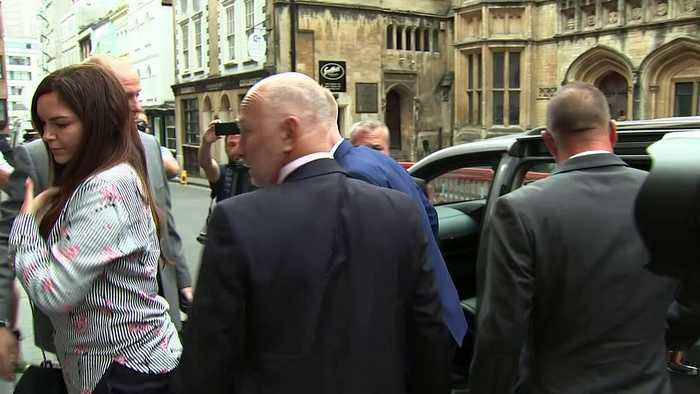 News video: Ben Stokes arrives at court for affray trial
