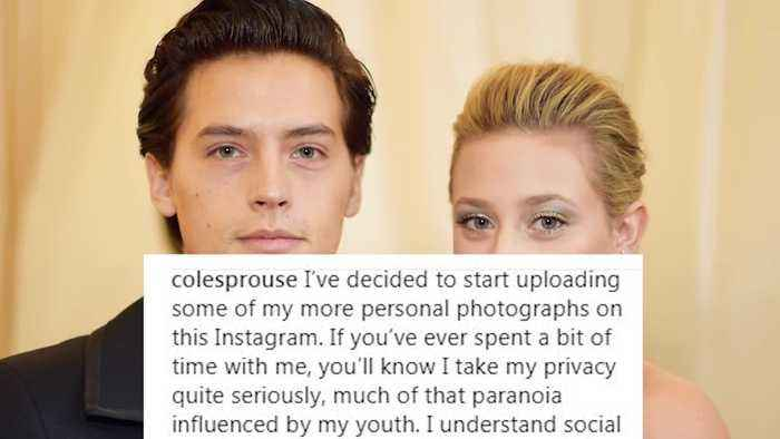 News video: Lili Reinhart Professes LOVE for Cole Sprouse on His Birthday