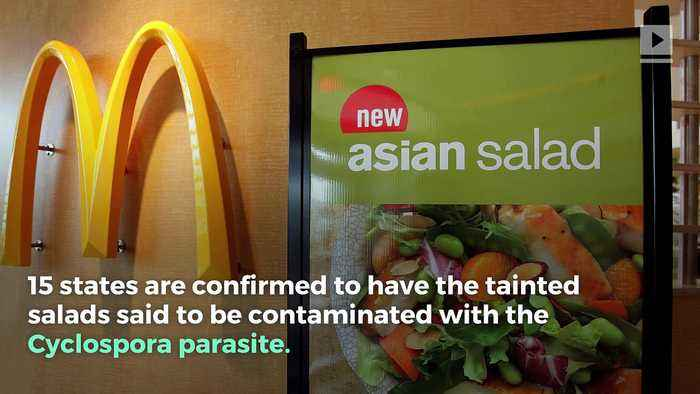 Parasite In McDonald's Salad Sickens 395 People