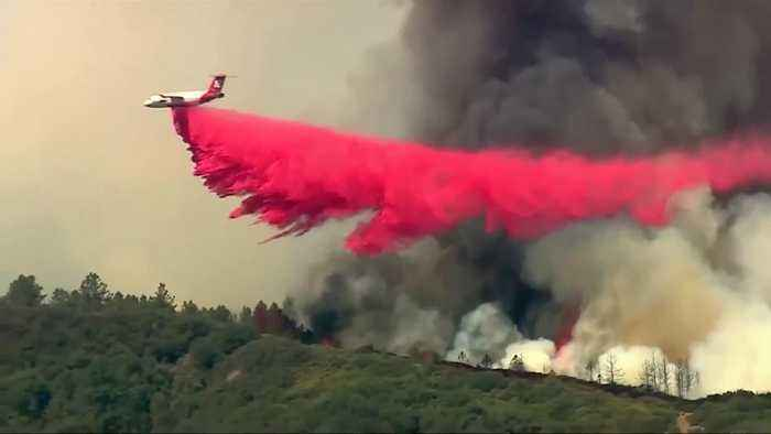 Crews battle Southern California's Holy Fire