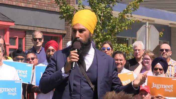 News video: Jagmeet Singh to focus on 'people' in fight for House seat