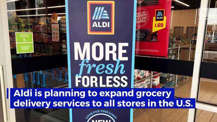 Aldi to Launch Curbside Grocery Pickup Service