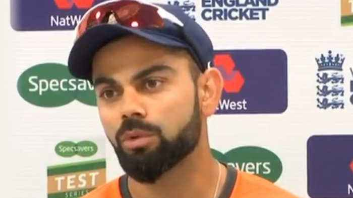 News video: India vs England 2nd Test: Virat Kohli says It's an honour to be Captain of the Team |वनइंडि