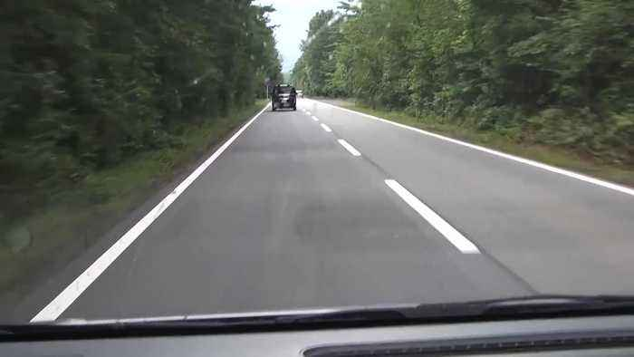 News video: Rumble strips on road play musical tune for drivers in Japan