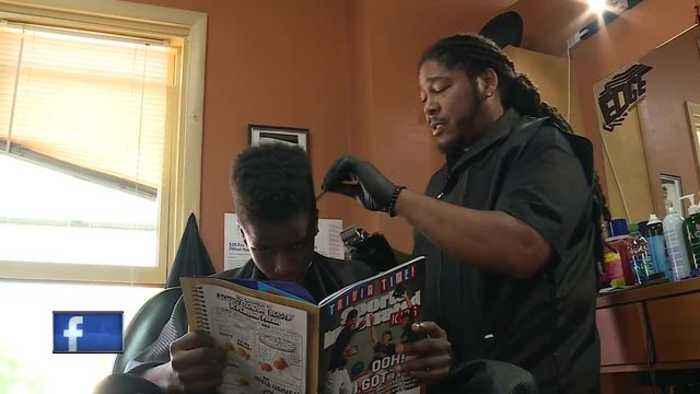 Partners in Education: Barbershop helps kids read