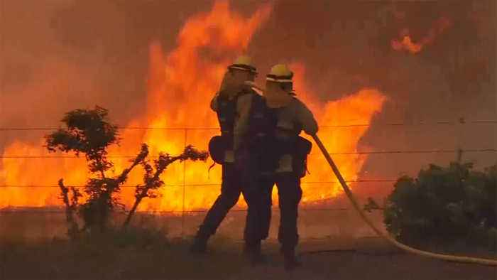 Mendocino Complex Wildfires Still Threaten Thousands of Structures