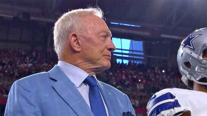 News video: Cowboys Owner Takes Hard Line on Anthem Protests