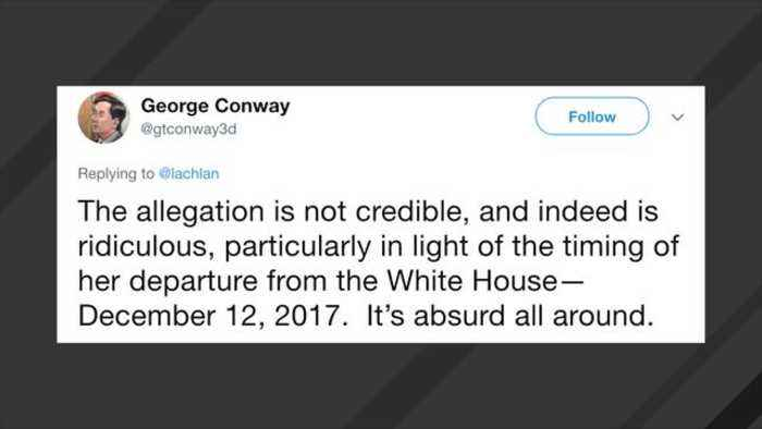 News video: George Conway Dismisses Omarosa's Claim Trump Used Racial Slurs Against Him