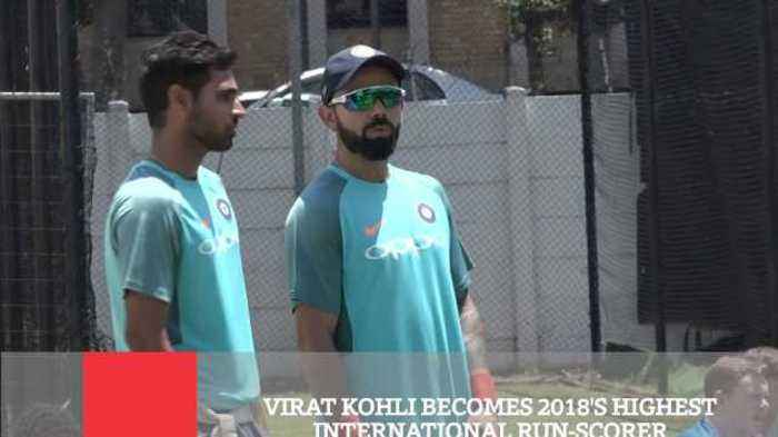 Virat Kohli Becomes 2018'S Highest International Run Scorer