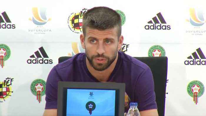 News video: Pique confirms not returning to Spain team