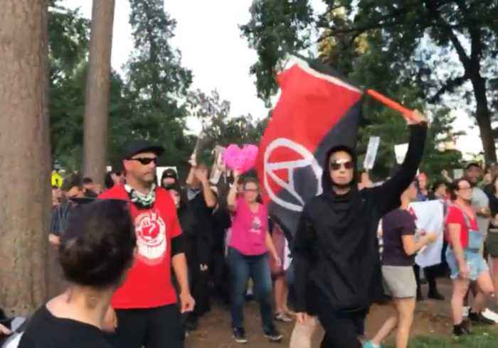 News video: Anti-Fascist Mark Unite the Right Anniversary With Charlottesville March