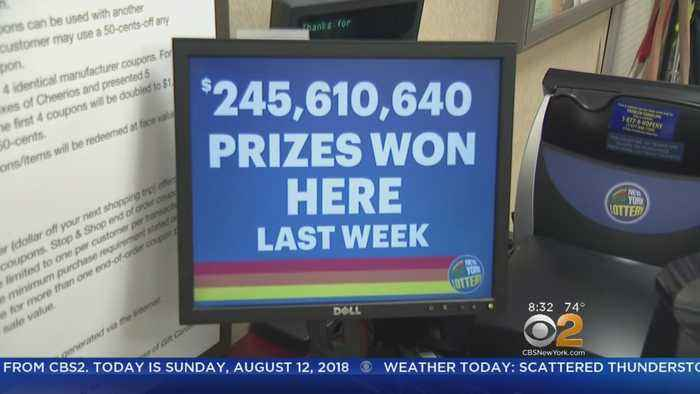 News video: Jackpot Winning Powerball Ticket Sold On Staten Island