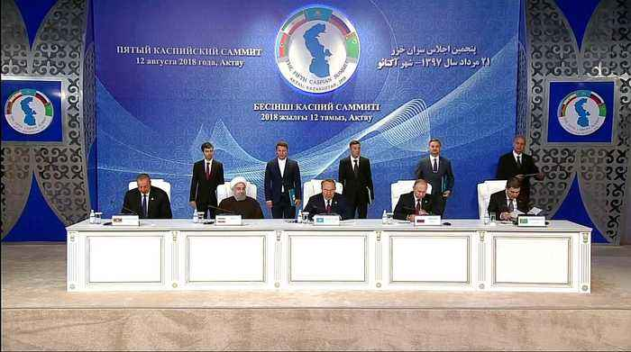 Is it a lake or sea? Five nations sign landmark Caspian agreement