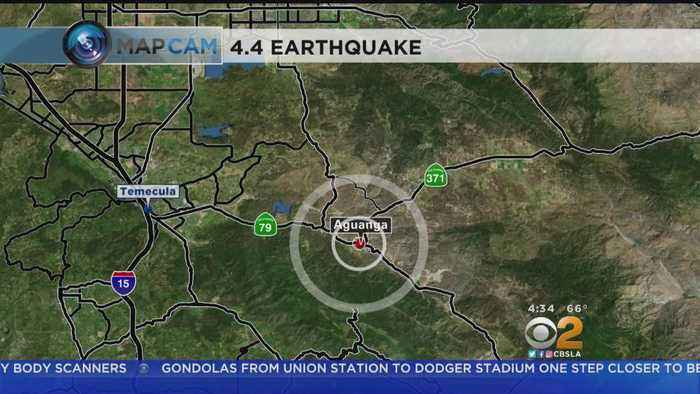 Light Earthquake Hits Riverside County
