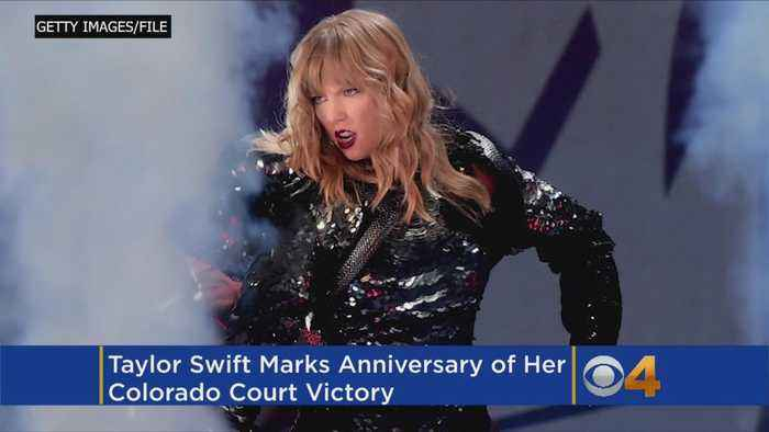 News video: Taylor Swift Marks Anniversary Of Her Colorado Court Victory