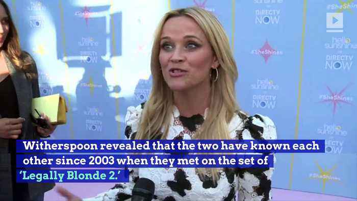 News video: Reese Witherspoon Reveals She (Basically) Has a Twin