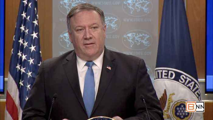 Secretary Of State Mike Pompeo Announces Iran Action ...