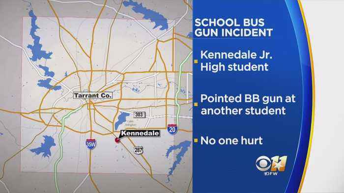 Kennedale Student Charged With Terroristic Threat After Pointing BB Gun At Another Student