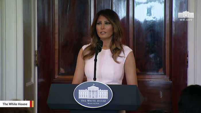 News video: Report: Melania Trump's 'Don't Care' Jacket Said To Be A Message To Critics