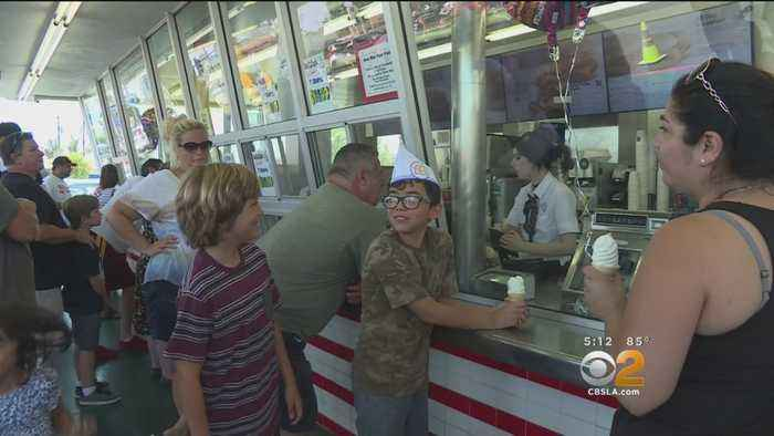 News video: World's Oldest Working McDonald's Celebrates 65 Years In Operation