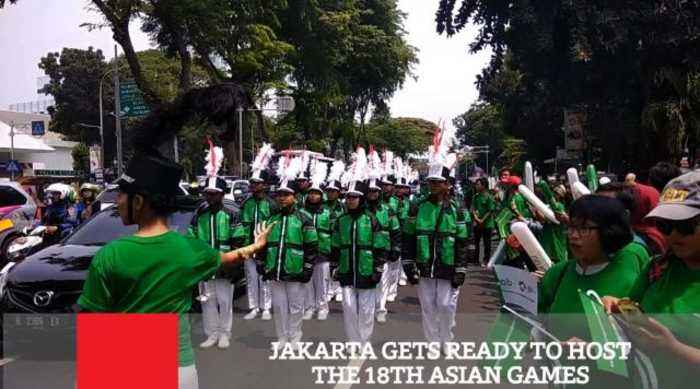 Jakarta Gets Ready To Host The 18th Asian Games