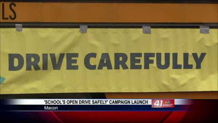 AAA launches 'School's Open–Drive Safely' Campaign in Macon