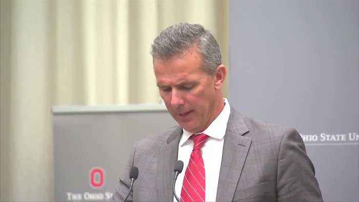 Ohio State football suspends coach Urban Meyer for three games