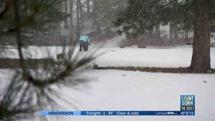 More snow expected at Mt. Charleston during holiday weekend