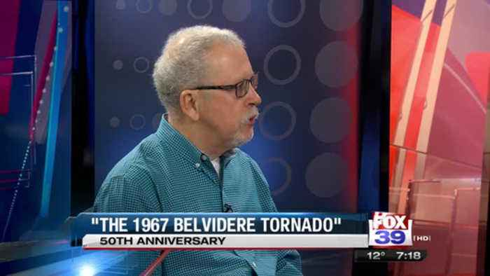 Author Talks 50th Anniversary of Belvidere Tornado