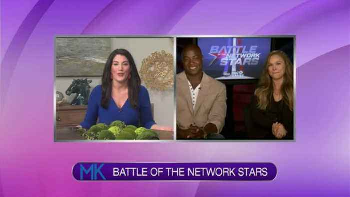News video: Katie Interviews The Hosts from Battle of the Network Stars