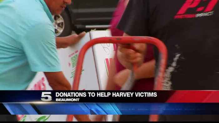 Donations Helping Those Affected by Harvey