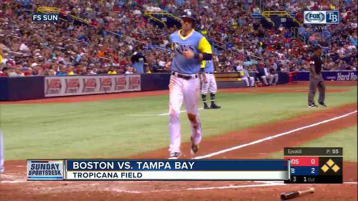 News video: Blake Snell helps Tampa Bay Rays win 8th straight game and hand Boston Red Sox 1st sweep of season
