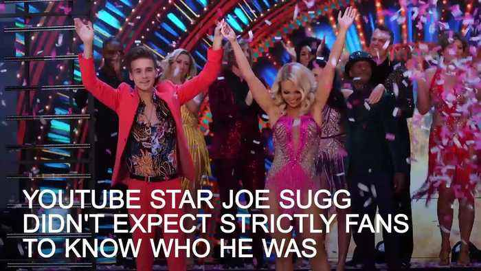 Strictly's Joe Sugg: I didn't expect people to know who I am