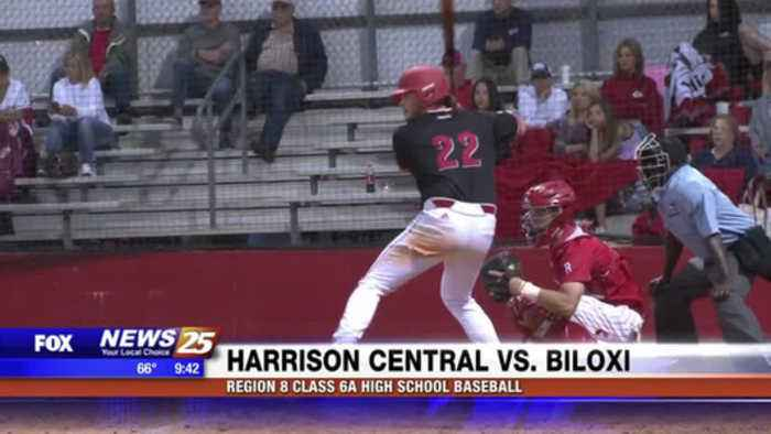 High School Baseball Harrison Central Vs One News Page Video