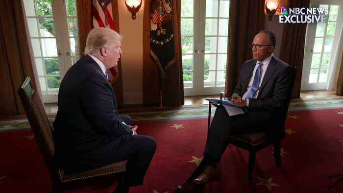 Image result for Trump and lester holt pictures