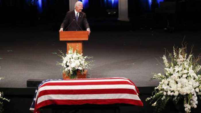 Joe Biden, Others Remember John McCain at Memorial Service