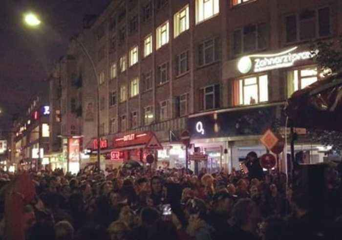 Anti-Fascist Protesters Gather in Berlin After Chemnitz Far-Right Demonstrations