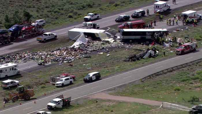 At Least 7 Dead After Bus Crash in New Mexico
