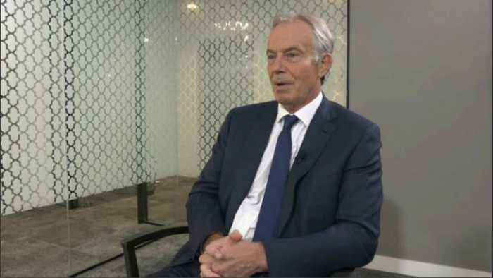 UK's Brexit proposal 'doomed to fail', says ex-PM Tony Blair