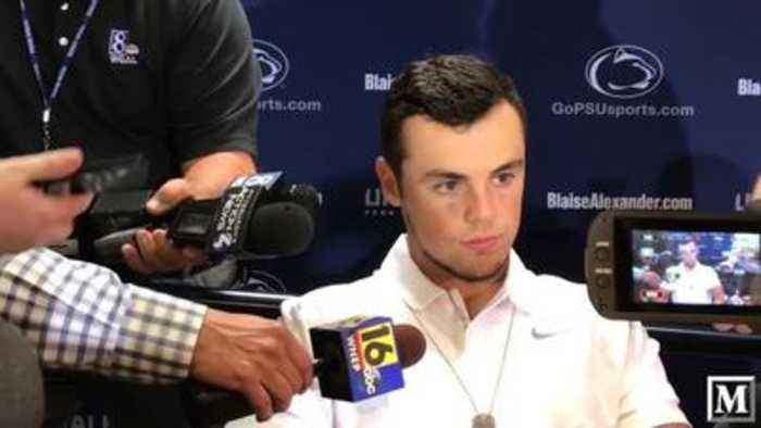 News video: No stress, Penn State quarterback Trace McSorley said