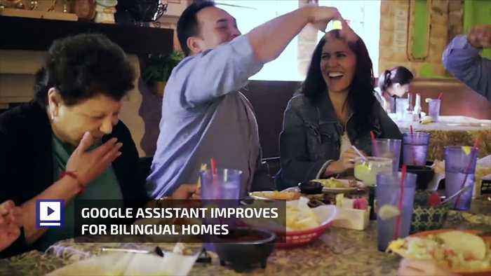 News video: Google Assistant Improves for Bilingual Homes