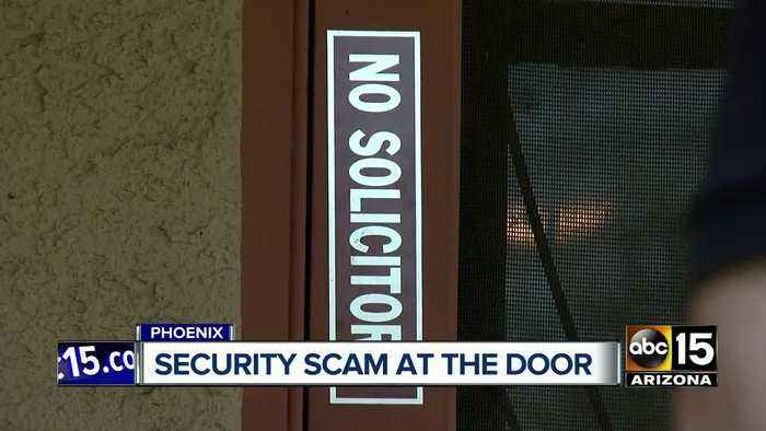 Scammers caught targeting home security systems in Phoenix