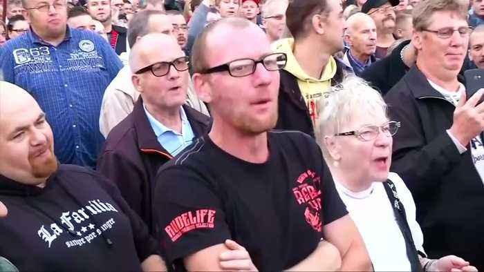 Tens of thousands peacefully attend Chemnitz anti-racism concert