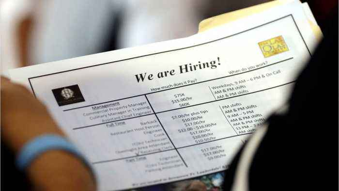 U.S. Weekly Jobless Claims Drop To Near 49-Year Low