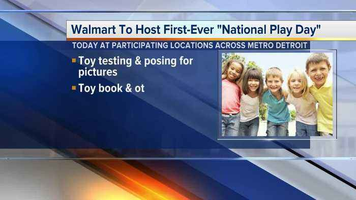 News video: Walmart to host first-ever 'National Play Day'