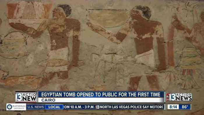 News video: Ancient Egyptian tomb now open to public for the first time