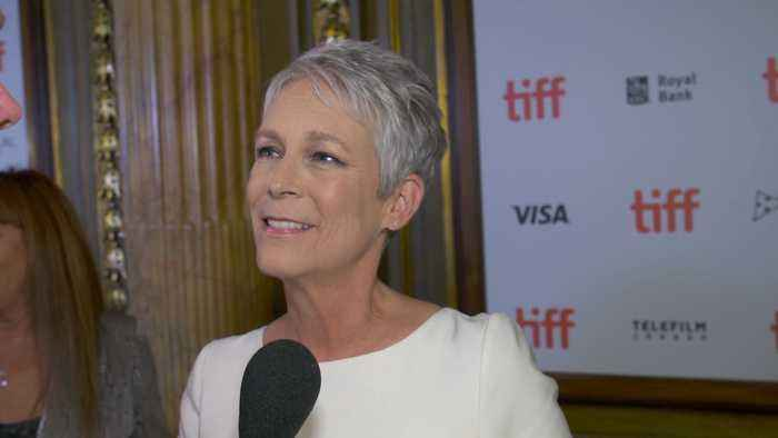 News video: Jamie Lee Curtis Turns 60 At Midnight Madness Premiere